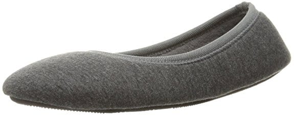 1b0964d668c4 Detailed Product Reviews of The Top 5 Women s Slippers in 2019. 1. Women s  Heathered Jersey Slippers (Jillian Ballerina) by Isotoner